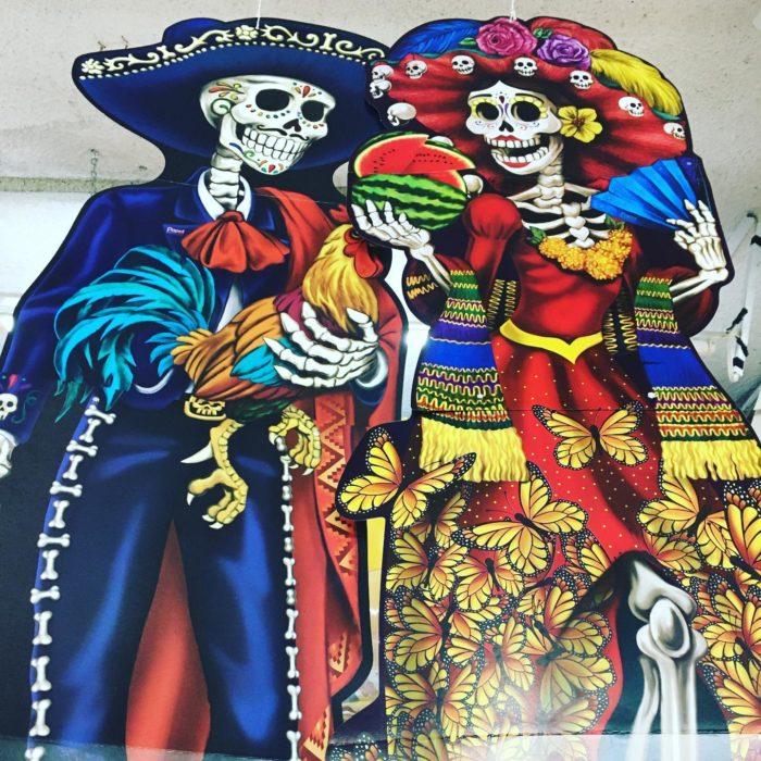 Catrina Coqueta y Catrín Mexicano
